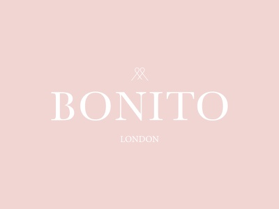 Bontio London Logo icon stationary stamp print pattern logo identity fashion clothing branding