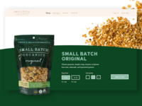 Small Batch - Product Page