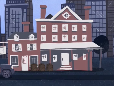 US Constitution Series education law illustration animation