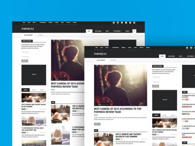PinPress – The New Blogging Experience