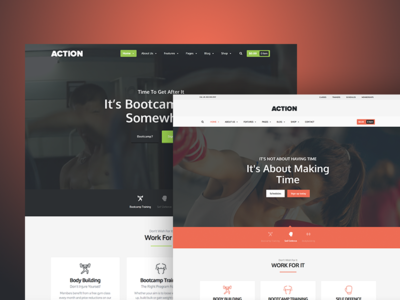 Action - The Fitness Theme