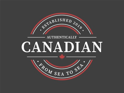 Authentically Canadian - Logo