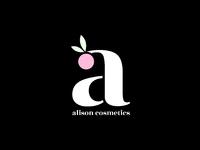 Alison cosmetics logo   dribbble 04