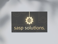 S.A.S.P Solutions - Logo & Business Card Design