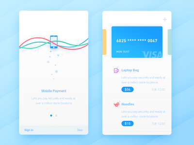 Mobile Payment store bank pay ui interface interaction inspiration device connect client apple