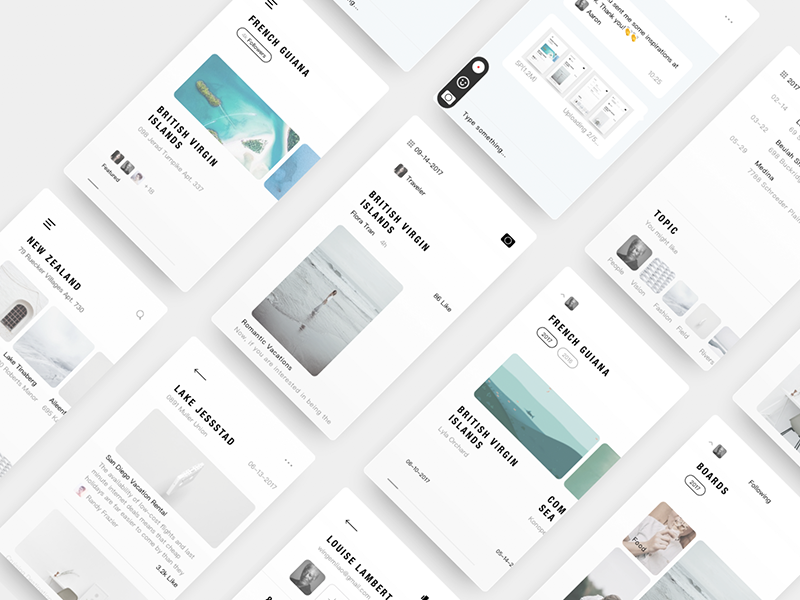 Diary Final ux ui time interface interaction inspiration diary demo connect clean apple white