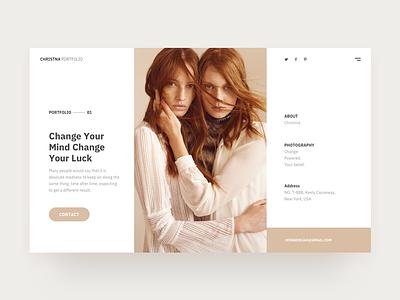 Portfolio agency creative conception web ux ui interface interaction inspiration connect client apple