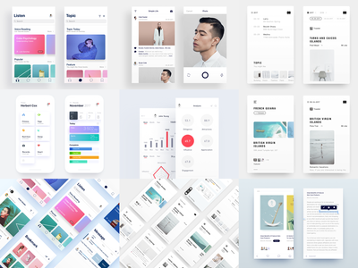 Best nine of 2017 2018 2017 ux ui interface interaction inspiration device demo connect clean apple