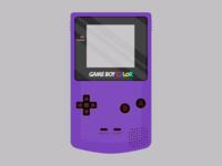 Gameboy violet x2