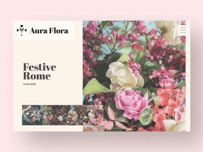 Aura Flora Website
