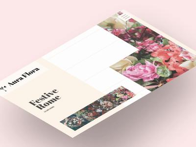 Aura Flora Website. Isometric