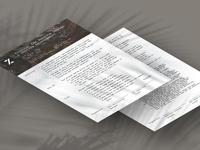 Proposal Template. Isometric proposal template print design contract proposal print pdf branding design ui figma dailyui