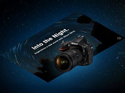 Nikon D810. Camera Isometric Website