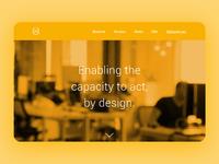 Barrel agency website by jpthedio