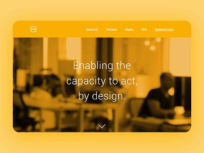 Barrel Agency dailyui ui design branding ux website after effects beach webflow beautiful photoshop
