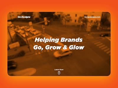 Go Designs photoshop beautiful webflow beach after effects website ux branding design ui dailyui