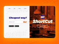 Shortcut app website by jpthedio