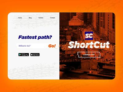Shortcut App Website dailyui ui design branding ux website after effects beach webflow beautiful photoshop