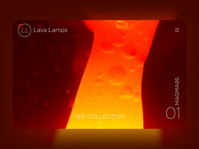 Lava Lamps Website By Jpthedio