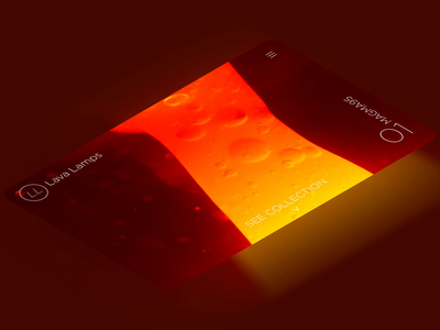 Lava Lamps. Isometric isometric dailyui ui design branding ux website after effects beach webflow photoshop video landing page