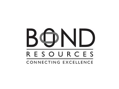 Bond Resources Logo Proposal logo design branding identity logo simple logo design design proposal