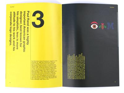 Design magazine layout typography typographic layout magazine design layout design paul rand
