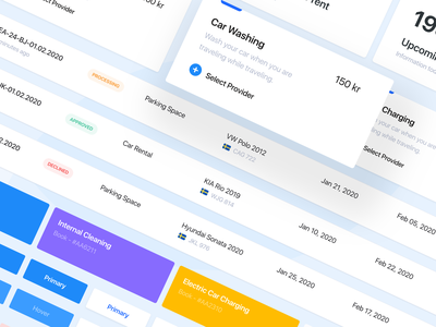 Airport Parking Case Study ui  ux transportation transport saas rent product design parking lot parking app dashboad crm booking b2b automotive airport admin panel car parking ux ui design