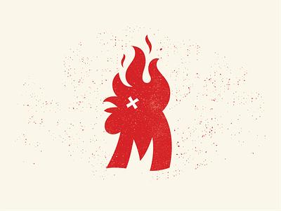 Mico's Hot Chicken spicy chicken wings red flames burn restaurant chicken hot
