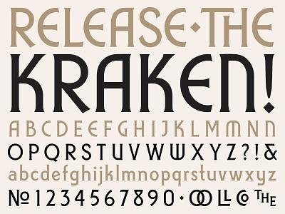 Whittington typeface font serif deco