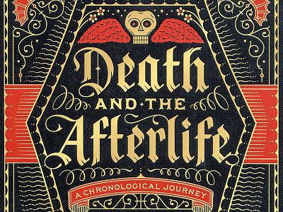 Death & The Afterlife illustration typography black letter lettering death
