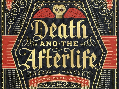Death & The Afterlife illustration typography black letter lettering death