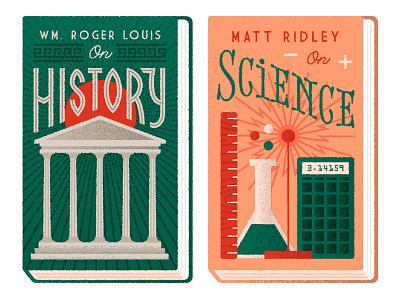 Wall Street Journal Books 2 editorial lettering illustration books
