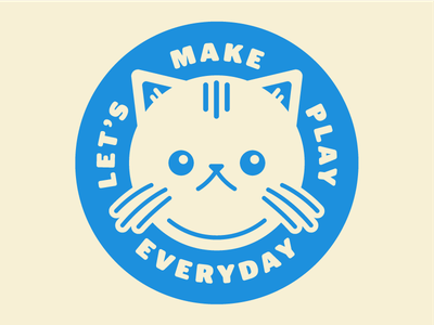 New Stickers round play mr. meow meows nyan sticker cat