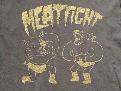 Meat Fight Shirt meat fight shirt bbq texas meat sweats