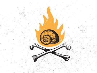 The Slow Bone  bbq man stuff grit texas snail meat bones fire