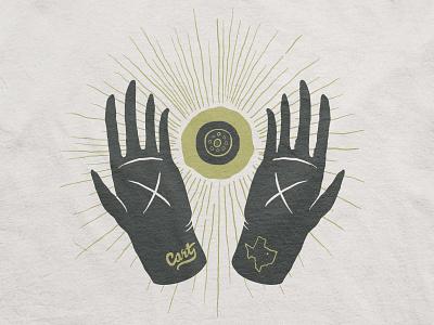 Medium Secret hand dallas idol severed texas eye sun why not