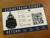 Symmetrain Ticket Business Card