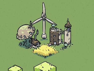 Wheat, weird houses and wind energy