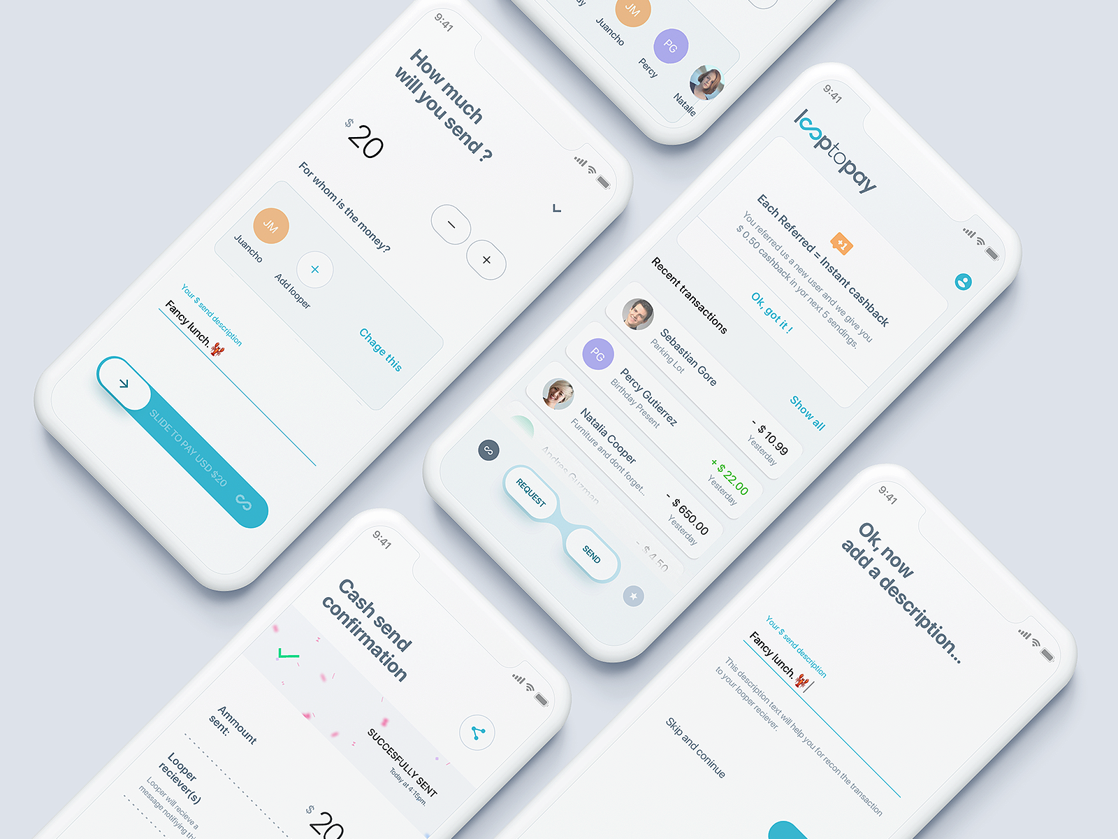 Juan Fer ☄️ / Projects / Transfer/Send Cash Concept | Dribbble