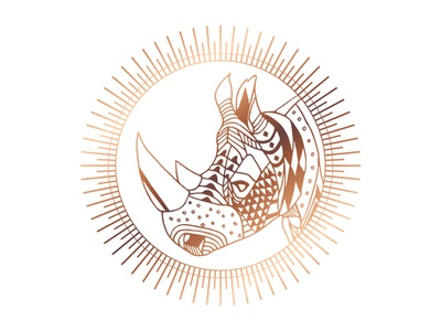 Copper Rhino digital designer digital design love rhino love society 6 rhino art an exquisite beast copper rhino animal society6store redbubble rhinoceros animal lover volunteer art rhino animals design graphic design graphic art