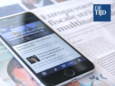 De Tijd - newspaper app