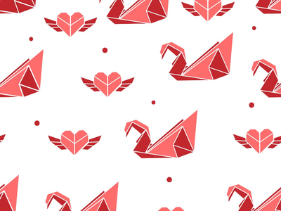 Seamless patterns, origami inspired origamimania schneckicreative simple origamiinspired surfacedesign patterndesign