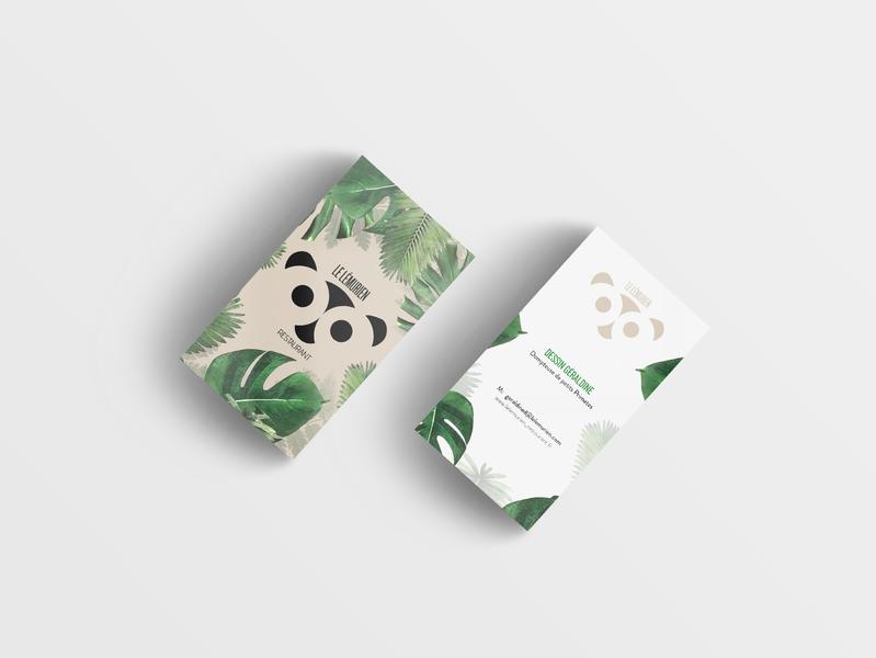Le Lémurien . Carte de Visite [ Identité Visuelle ]