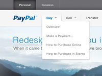 PayPal Redesign - 2012