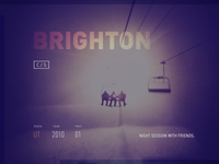 CS01 Night Ride - Brighton