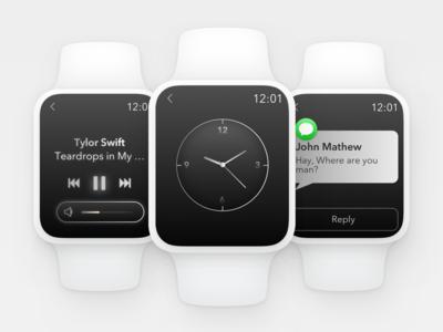Apple Watch Ui Design