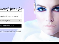 Beauty Resource Website Design