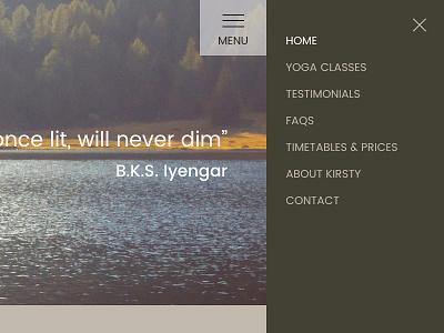 Glow Yoga Responsive Website responsive website glow yoga yoga website
