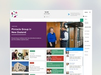 Intranet concept design