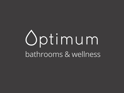 Optimum bathrooms & wellness website design branding optimum bathrooms bathrooms website bathrooms logo